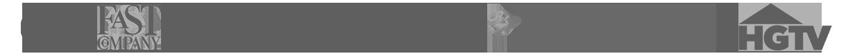 Media Logos on Steve Spangler Homepage Footer
