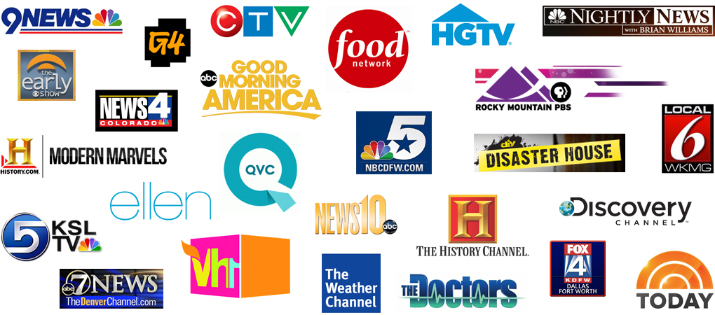 Television appearance logos