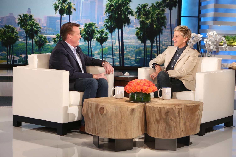 Steve Spangler on The Ellen Show