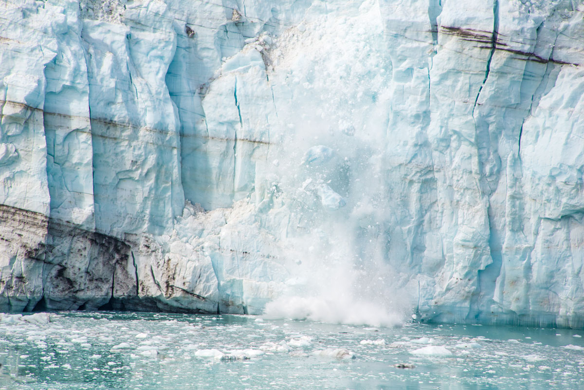 Glacier during Science at Sea in Alaska