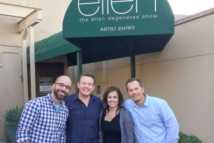 Steve Spangler at the Artist Entry for Ellen Show