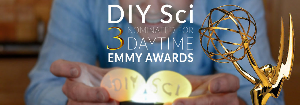 Steve Spangler's DIY Sci is Nominated for Three Emmy Awards