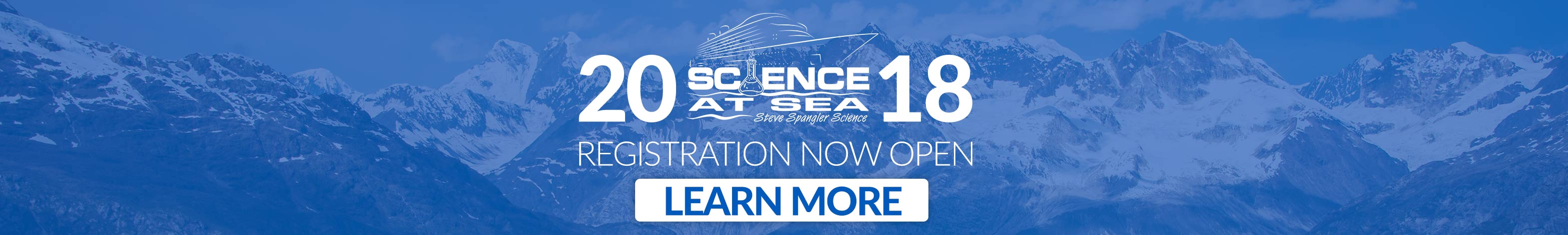Science at Sea 2018 Registration now open banner