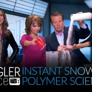 Instant Snow Polymer Science with Steve Spangler on 9News