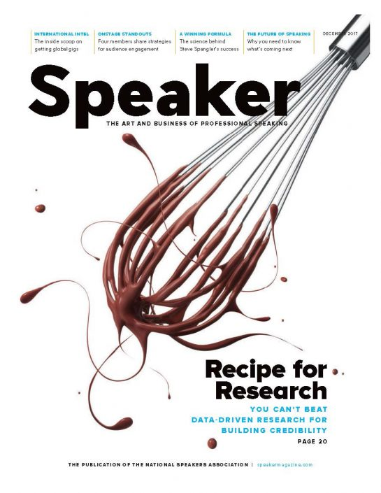 NSA Article the Science of Speaking the Steve Spangler Way by Ron Culberson