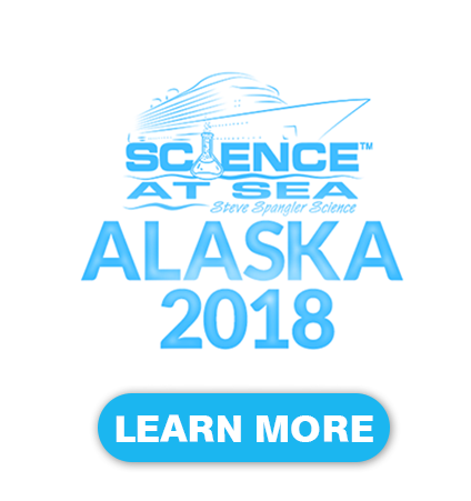 Science at Sea 2018 Alaska with Steve Spangler Home Page Header