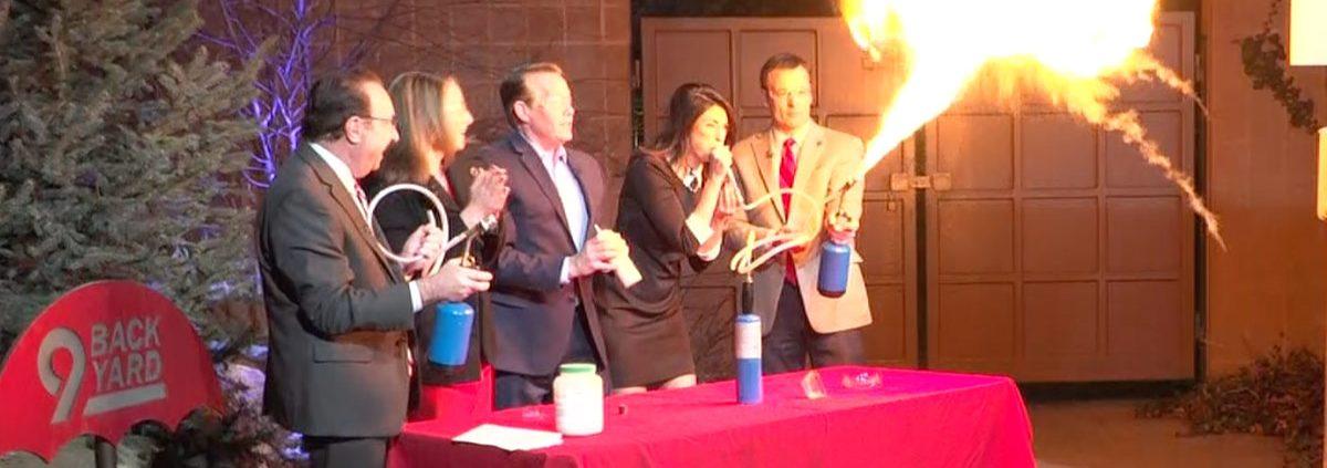 Great-Balls-of-Fire-STEM-Special-Effects 9News Steve Spangler