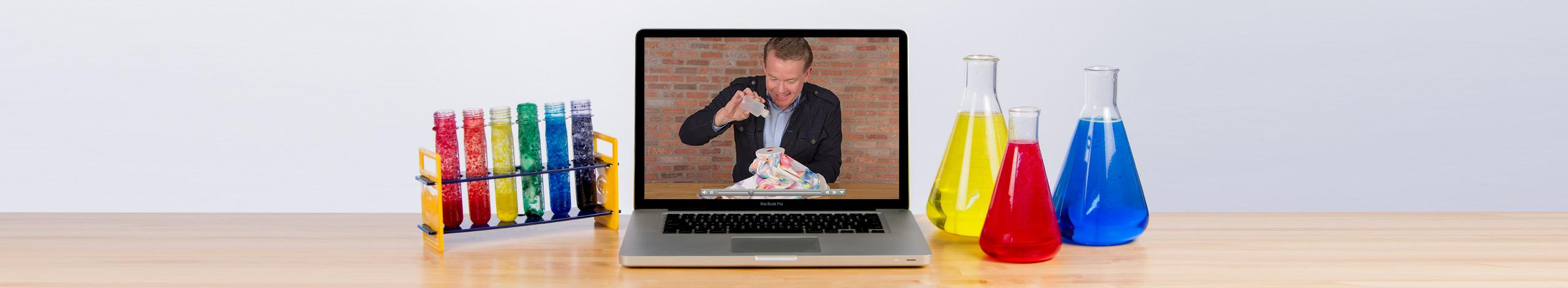 Steve Spangler Online Learning Virtual Science Workshop