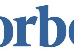 Forbes Logo Header for Steve Spangler Article