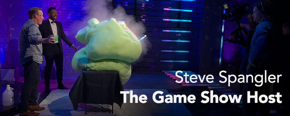 Steve Spangler Hosts Facebook's Confetti Game Show - Steve Spangler