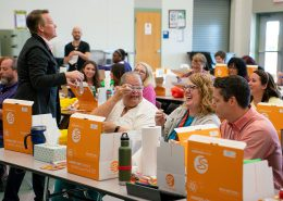 CITGO Fueling Education winner Pflugerville Texas Wieland Elementary School with Steve Spangler