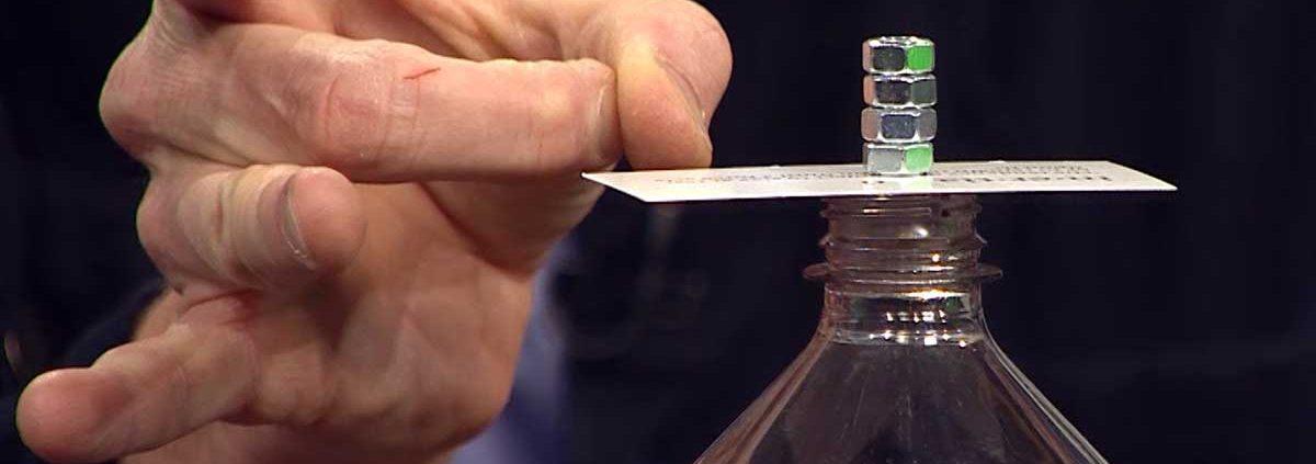 Inertia STEM Challenge with Steve Spangler on 9News