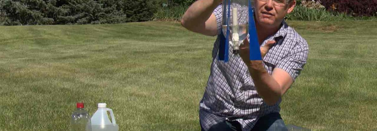 Baking Soda and Vinegar Rocket with Steve Spangler on DIY Sci