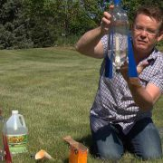 Baking Soda and Vinegar Rocket with Steve Spangler on DIY Sci