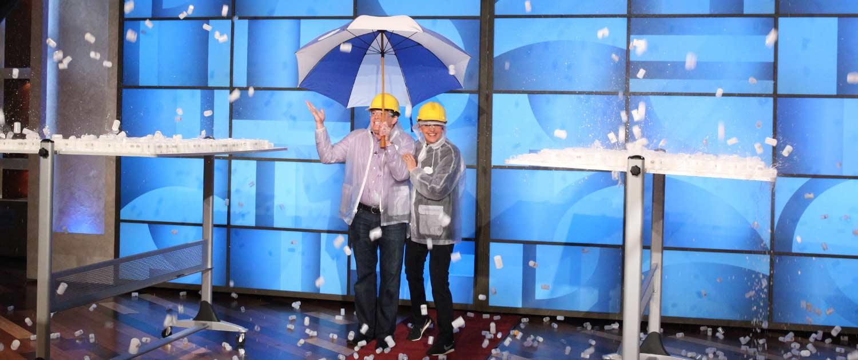 Steve Spangler on The Ellen Show Film Canister Explosion