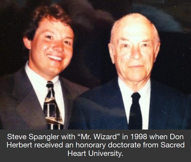Steve Spangler and Don Herbert - Mr Wizard