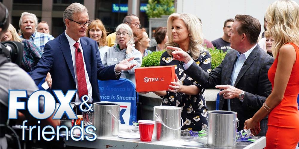 Steve Spangler on FOX & Friends New York