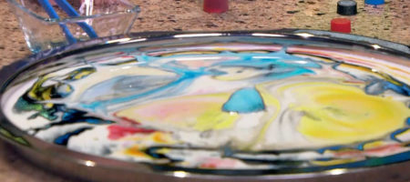Color Milk Explosions Champagne Steve Spangler on KUSA 9News