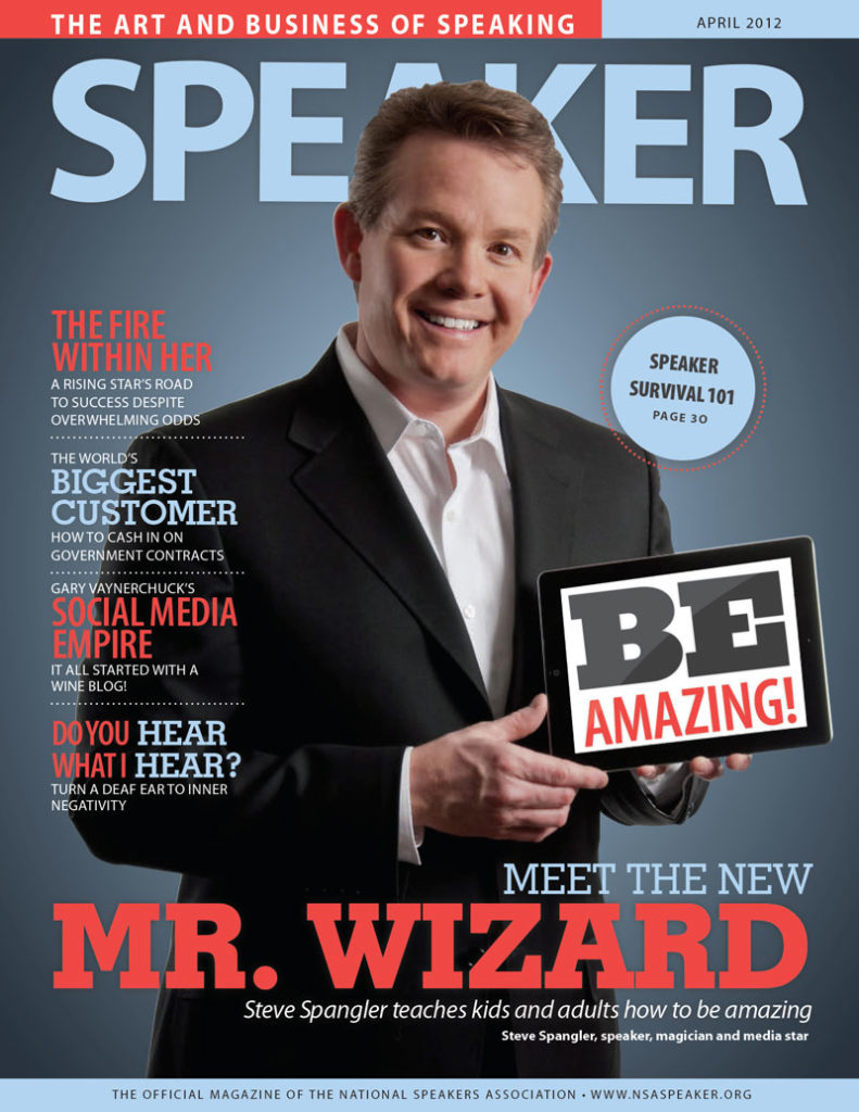 Meet the New Mr Wizard with Steve Spangler Speaker Magazine