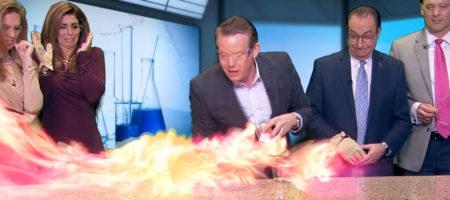 Power of Ethanol Champagne Steve Spangler on KUSA 9News