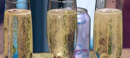 Science of Champagne Steve Spangler on KUSA 9News