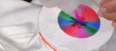 Sharpie Pen Tie-Dye 9News with Steve Spangler