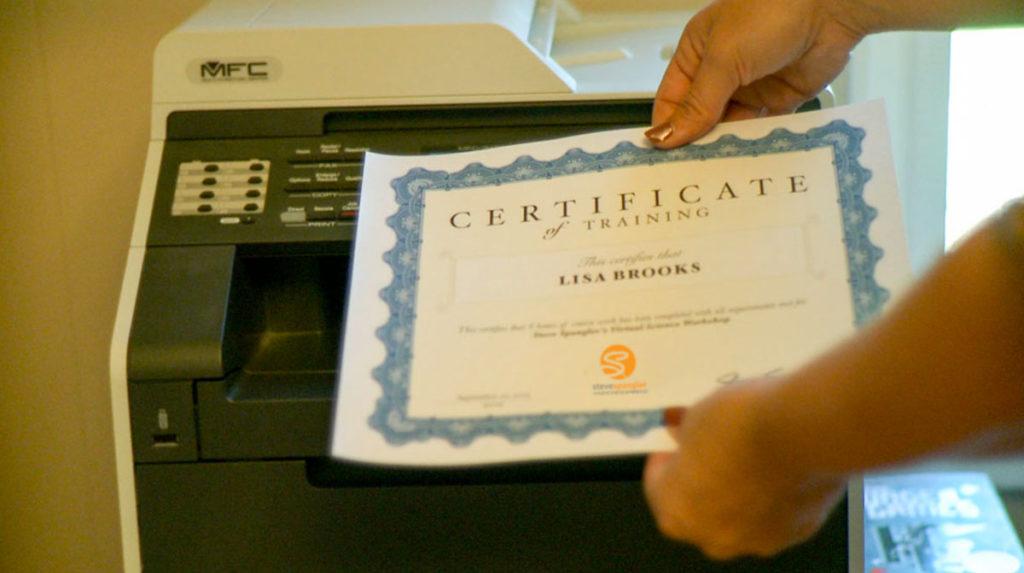 Spangler Online Learning Certificate