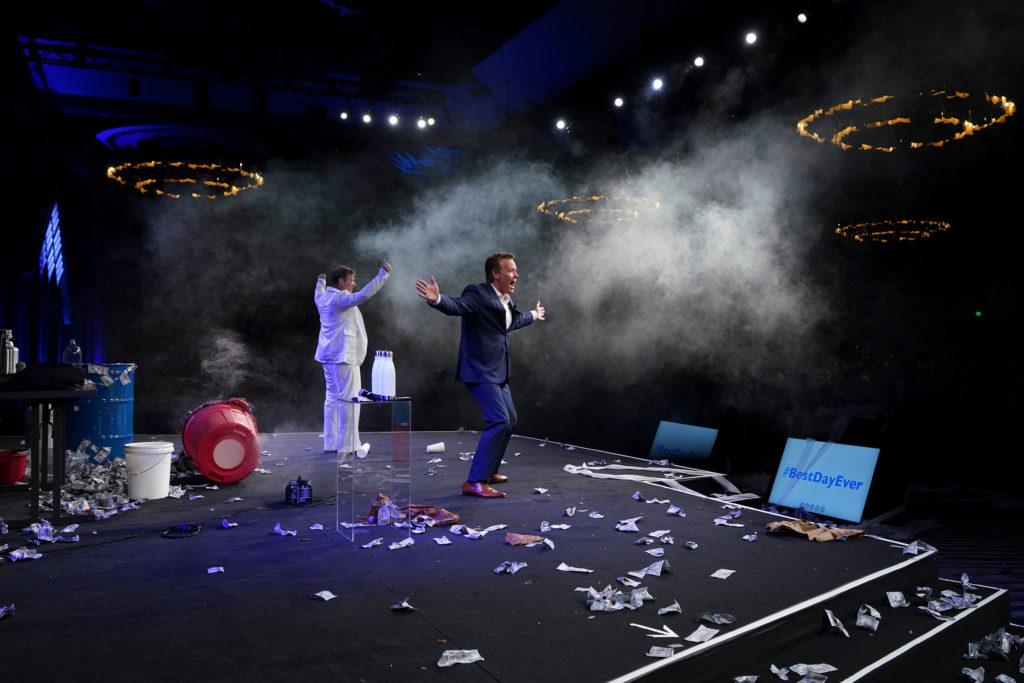 Steve Spangler Keynote Stage